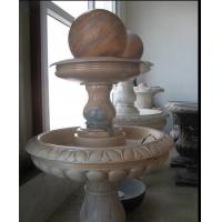Buy cheap Red Marble Rolling Ball Fountain from wholesalers