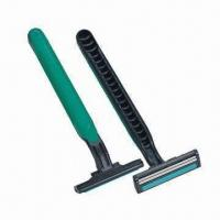 Wholesale Hot Sale Disposable Razors, Made of Carbon Steel or Stainless Steel, Customized Logos Welcomed from china suppliers