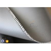Wholesale Silicone Rubber Coated Fiberglass Cloth For Thermal Insulation Valve Cover from china suppliers