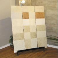 Wholesale Sturdy Slab Stone / Ceramic Tile Display Racks With Steel Tube from china suppliers