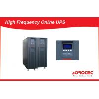Wholesale Large Capacity High Frequency Online UPS Power Supply With 12V 9ah Battery , Three Phase from china suppliers