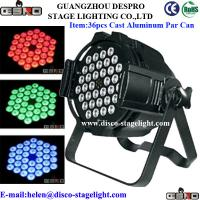 Wholesale Outdoor Mini Dimming LED Stage Light Waterproof LED Par Lights Red / Green from china suppliers