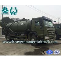 Wholesale Sanitary Vacuum Sewage Suction Trucks Electric Control 16 CBM 266 HP 12 Ton from china suppliers