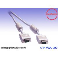 Wholesale Video Graphics Array Gray 26AWG VGA 15 Pin Male To Male  Vention 20 Meters VGA Cable from china suppliers