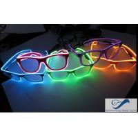 Wholesale Popular El Wire Glasses Diffraction Effect Lens For Watching Fireworks from china suppliers