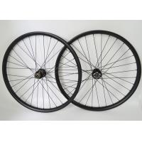 Wholesale T700 29er Carbon MTB Wheels 30mm Width Disc Center Lock / Disc IS Compatibility from china suppliers