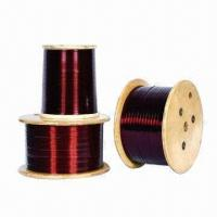 Wholesale Copper Enameled Wires, 0.80 to 5.60mm Flat Wire Thickness, 0.1 to 5.0mm Wire Diameter  from china suppliers