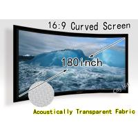 Wholesale 3D Fixed Frame Wall Mounted Projection Screen For Home Hd Projectors from china suppliers