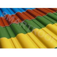 Wholesale 1.5MM Thick FRP Roofing Sheets Water Proof , High Ultraviolet Resistance from china suppliers