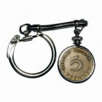 Wholesale Coin Keychain, Customized Logos Welcomed, Available in Iron Sizes from china suppliers