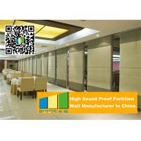 Ceiling Suspended Folding Partition Walls Sound Absorbing For Seminars Room