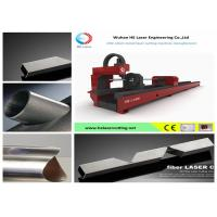 Wholesale Stainless Tube Cutting Laser Machine , Square Pipe Fiber Laser Cutting Equipment from china suppliers