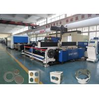 Buy cheap High quality automatic fiber cutting machine stainless steel thick-walled tube thin wall tube laser cutting machine from wholesalers