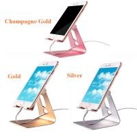Wholesale Flexible Rotatable Aluminum Alloy Mobile Phone Tablet Stand Desktop Holder from china suppliers