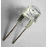 Wholesale DIP 10mm Round Type With Flange Ultra Amber Indicator LED from china suppliers