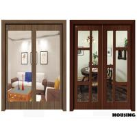 Wholesale Outward Swing Wood PVC Doors With 40mm / 45mm Door Leaf from china suppliers