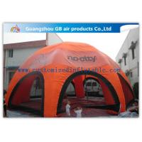 Wholesale Orange Inflatable Spider Tent With 8 Legs Weather - Resistant ODM / OEM from china suppliers
