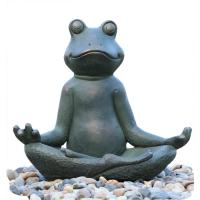 Wholesale Distinctive Frog Water Fountain  Outdoor Garden Fountains Environmental Friendly from china suppliers