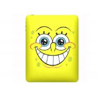 Quality Anti - Compressive Yellow SpongeBob Ipad 2/3 Silicone Cases for promotion gift. for sale