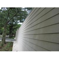 Quality Wood Look Fiber Cement Panel Siding Modern Building Material For Wall Decoration for sale