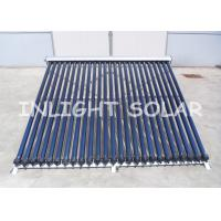 Wholesale High Absorption  Solar Heat Pipe Collector 25 Tubes With 25 Degree Frame from china suppliers