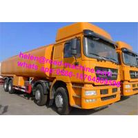 Wholesale ZZ5257M3247N Green / Red / White Sinotruck Howo Water Tanker Trailer 25000L from china suppliers