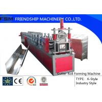 Wholesale Seamless Gutter Forming Machine With 18 Stations And 375mm Coil Width from china suppliers