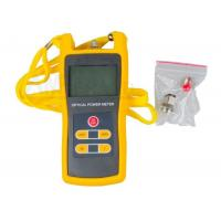 Wholesale Fiber Optic Cable Tester For Universal Connectors , Portable Fiber Optic Power Meter from china suppliers