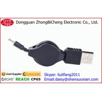 Wholesale USB to 3.5mm plug Double Way Retractable Cable Charging reel from china suppliers