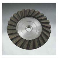 Wholesale Double turbo cup wheel Alumiuium steel from china suppliers