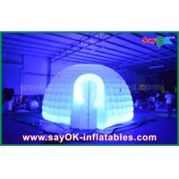 Wholesale Color Changed Lighting Round Inflatable Dome Tent With Oxfor Cloth Material from china suppliers