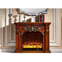 Wholesale Modern Indoor European Antique Electric Fireplaces Easy Assmbly from china suppliers