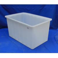 Rectangular chemical resistance durable plastic open top for Plastic hot water tank