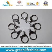 Wholesale Good Quality Zinc Alloy 35mm Length 16mmID Big Size Lobster Clasp for Lanyard Attaching from china suppliers