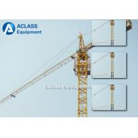 Wholesale 24.9kw Power Capacity Hammerhead Tower Crane With Double Slewing Motor from china suppliers