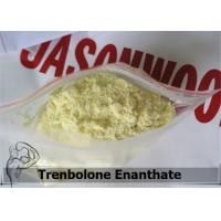 Wholesale Injectable Yellow Raw Steroid Powders Trenbolone Enanthate / Tren E from china suppliers