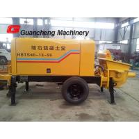 Wholesale Mobile Concrete Pump And Mixer With Electric Motor Concrete Pump 2000kg Total weight from china suppliers