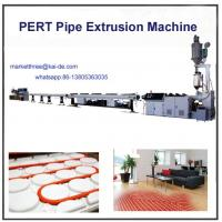 Wholesale PERT heating pipe extrusion line Supplier 35m/min from china suppliers
