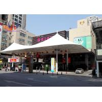 Wholesale Cottage Shape Outdoor Sun Shade Canopy , Beverage Shop Permanent Shade Canopy from china suppliers