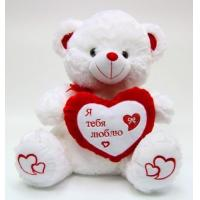 Wholesale Lovely Valentines Day Stuffed Toys Small White Plush Teddy Bear For Premium from china suppliers