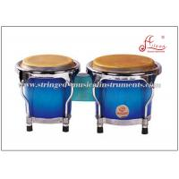 "Wholesale Birchwood  Small Bongo Drums , Gray aluminum Bottom ring 4"" / 5"" Latin Percussion Bongos from china suppliers"
