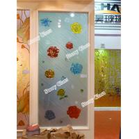 Wholesale Engraved Painted Glass Partition from china suppliers