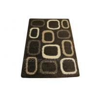 Wholesale Coffee Polyester Shaggy Pile Rugs, Sofa Area Rug Shag Carpet For House Decoration from china suppliers