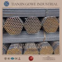 Wholesale Q235 hot dip galvanized scaffolding tube 48.3 mm*3.0mm *6000mm from china suppliers