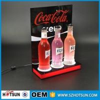 Wholesale Acrylic bottle display / customize LED acrylic display from china suppliers