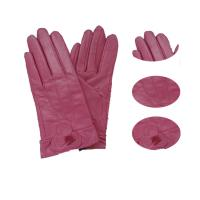 China The queen of quality sheepskin women leather gloves on sale