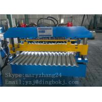 Wholesale Corrugated Metal Panel Roll Forming Machine with 1250mm Feeding width for Simple House from china suppliers
