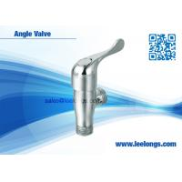 Wholesale Quick Opening Zinc Angle Valve Size1 / 2  , Angle Stop Valves from china suppliers