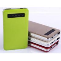 Wholesale 11000mAH touch switch double output power bank from china suppliers