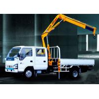 Wholesale XCMG Durable Arm Move Fast Articulated Boom Crane , 3.2 Ton Truck With Crane from china suppliers